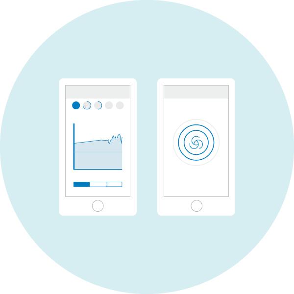 Blueair Friend APP 観測データおよびオートモード設定